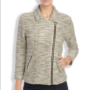 Lucky Brand   Tweed Moto Jacket
